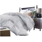 Microfiber Down Alternative Comforter (Full/Queen) Platinum