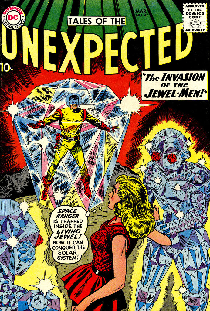 Tales of the Unexpected #47 (DC, 1960) Dick Dillin cover