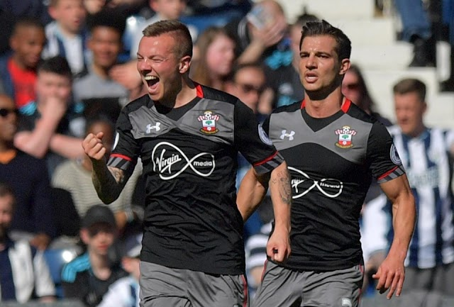 Southampton é guerreiro e vence o West Bromwich fora de casa