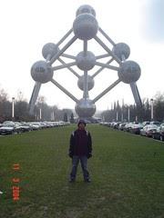Atomium, Bruparck, Brussels, Belgium