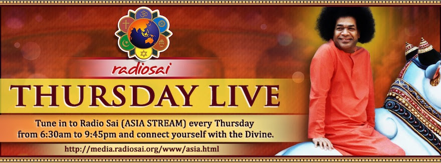 Radio Sai Thursday Live Schedule