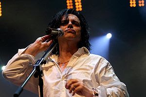 Steve Hogarth, lead singer of progressive rock...