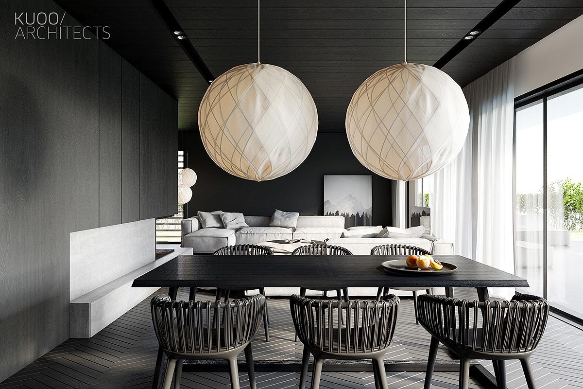 16 Black Dining Rooms That Your Dinner Guests Will Adore
