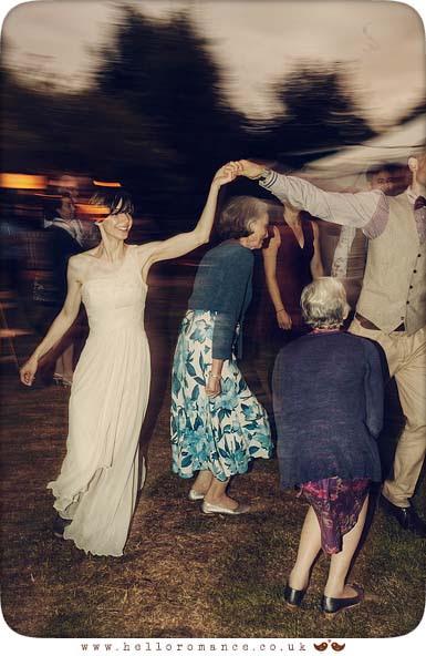 Dancing at wedding - Hello Romance