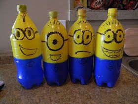 liter bottles  minion bowling pins  fill