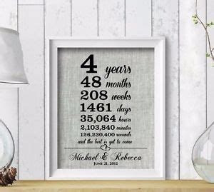 4th Wedding Anniversary Gift Ideas: Flowers & Linen