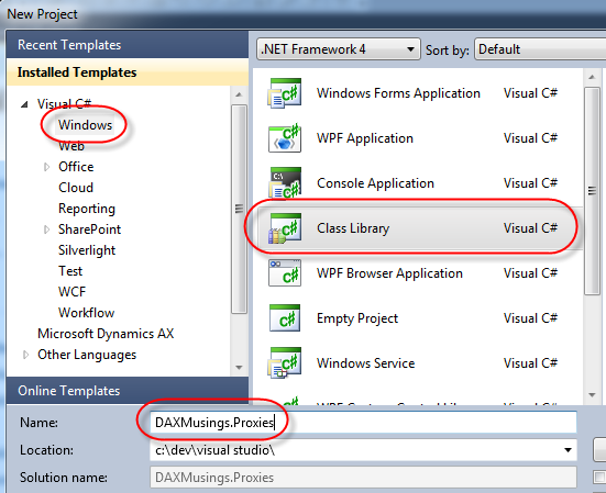 how to add web service reference in visual studio 2010