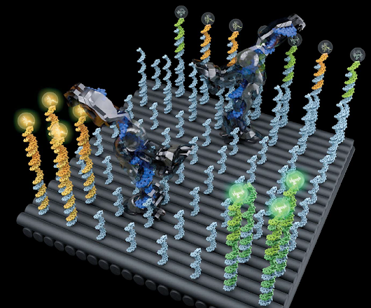 Walking DNA nanorobot could deliver a drug to a precise location in your body | KurzweilAI