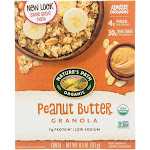 Nature's Path Organic Peanut Butter Granola - 11.5 Ounce - PACK OF 96