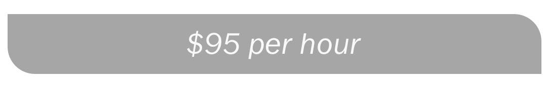 $95 per hour Graphic Design Fee