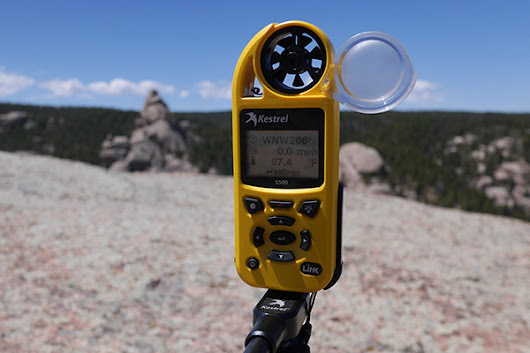 Kestrel 5500 Weather Meter Review