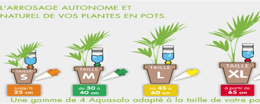 Solutions d'arrosages -Conseil pour arroser sans effort- Aqua Solo