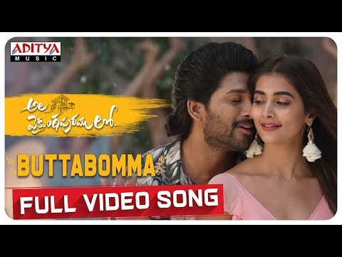 Butta Bomma full video song released: watch it here