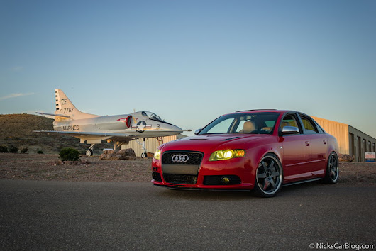 Yellow Lamin-X on a B7 Audi S4