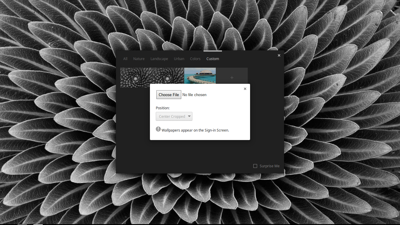 Chromebook Beginners Guide How To Set A Custom Wallpaper On