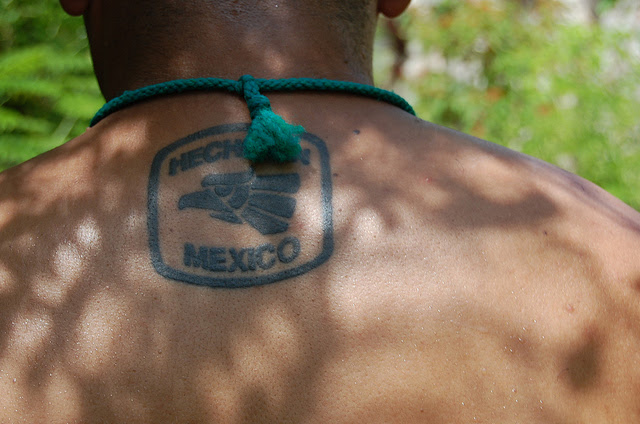 Hecho En Mexico Tattoo On Back In 2017 Real Photo Pictures Images