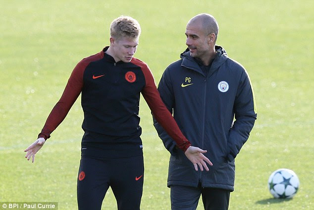 New boss Guardiola is not one to micro-manage his players, according to De Bruyne