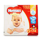 Huggies Little Snugglers Plus Diapers, Size 2 - 174 count