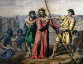 DÉCIMA ESTACIÓN Jesús es despojado de sus vestiduras