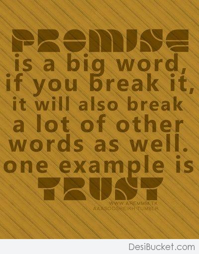 Quotes About Broken Promises 74 Quotes