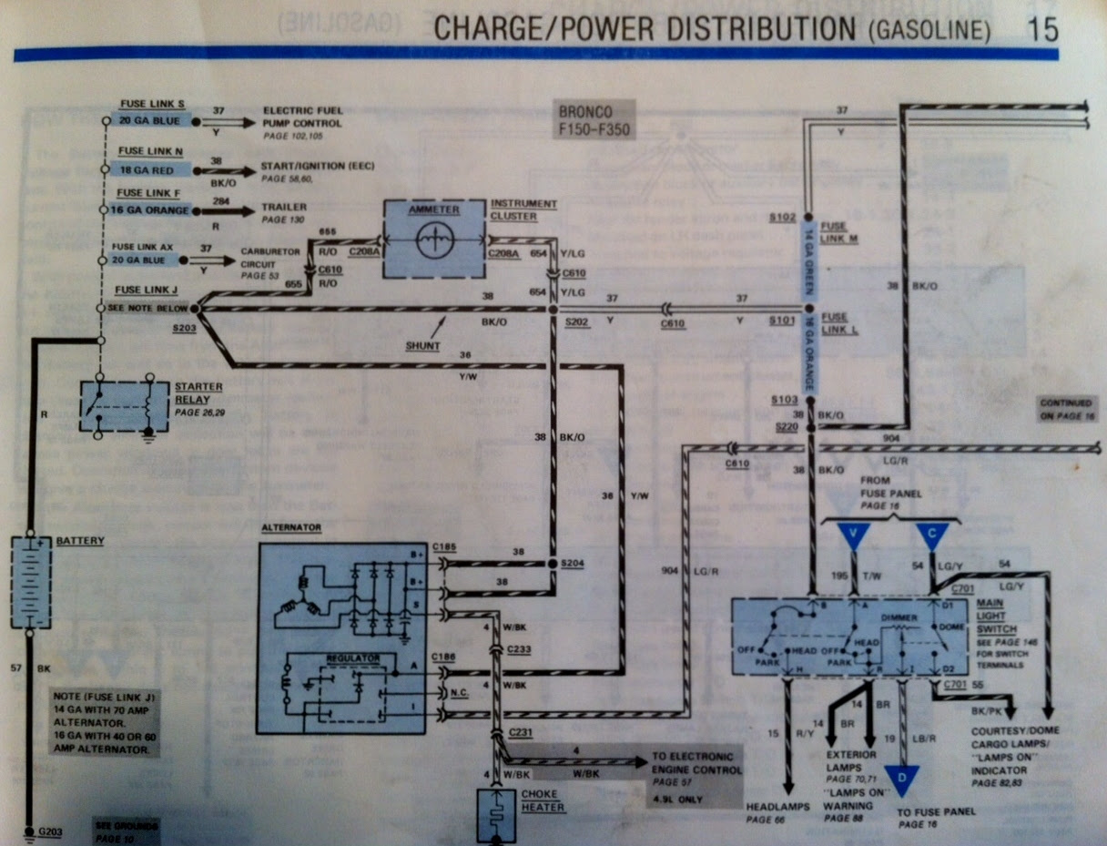 Wiring diagram for 1987 Ford truck - Ford Truck ...