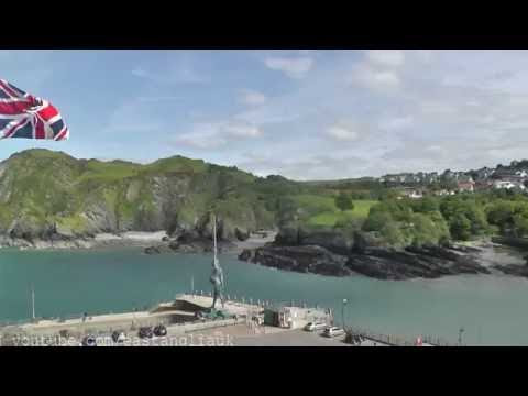 May 2016 At Ilfracombe In North Devon and walking up the hill