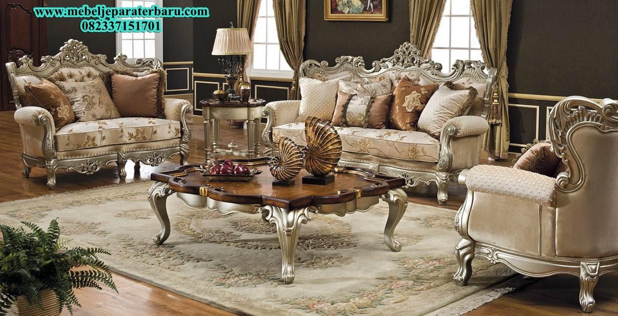 Kursi Sofa Tamu Ukiran Mewah Klasik Mebel Jepara Terbaru