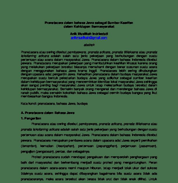 Laporan Hasil Observasi Pengembangan Kurikulum