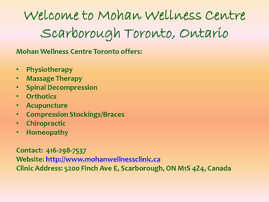 Wellness Centre Toronto