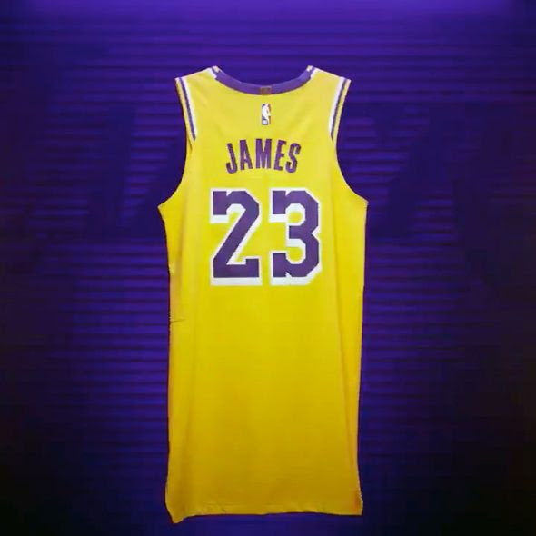 Lakers Officially Unveil New Uniforms for 2018-19 | Chris ...