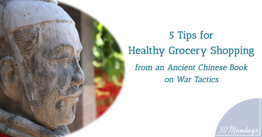 5 Tips for Healthy Grocery Shopping to Learn from an Ancient Chinese Book on War Tactics.