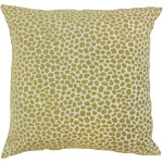 Badr Geometric Floor Pillow Lichen