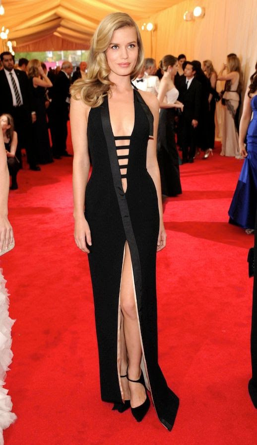 Le Fashion Blog 7 Best 2014 Met Gala Looks Georgia May Jagger Deep V Strappy Thierry Mugler Gown Dress Front Split photo Le-Fashion-Blog-7-Best-2014-Met-Gala-Looks-Georgia-May-Jagger-Thierry-Mugler.jpg