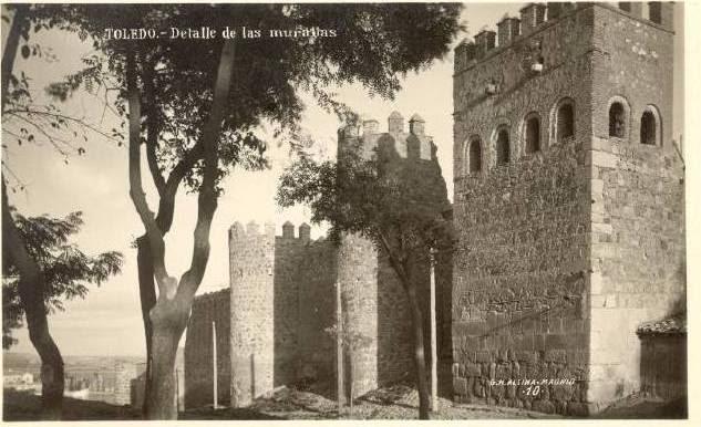 Torres de la Reina a inicios del siglo XX. Foto Alsina