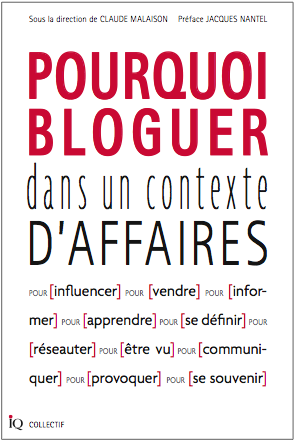 pourquoi bloguer dans un contexte d'affaires