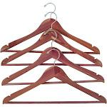Household Essentials 4pk Cedar Garment Hanger