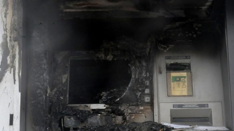 Δύο επιθέσεις σε ΑΤΜ σε Yμηττό  και Παλλήνη τα ξημερώματα