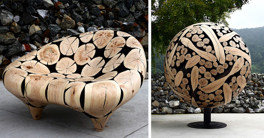 Discarded Tree Trunks Turned Into Stunning Wood Sculptures By Jae-Hyo Lee