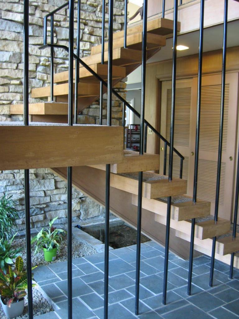 Amazing Mid Century Modern Staircase Design Ideas ...