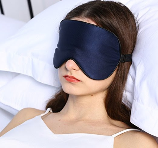 Today Only: Silk Sleep Mask For $7.99 From Amazon