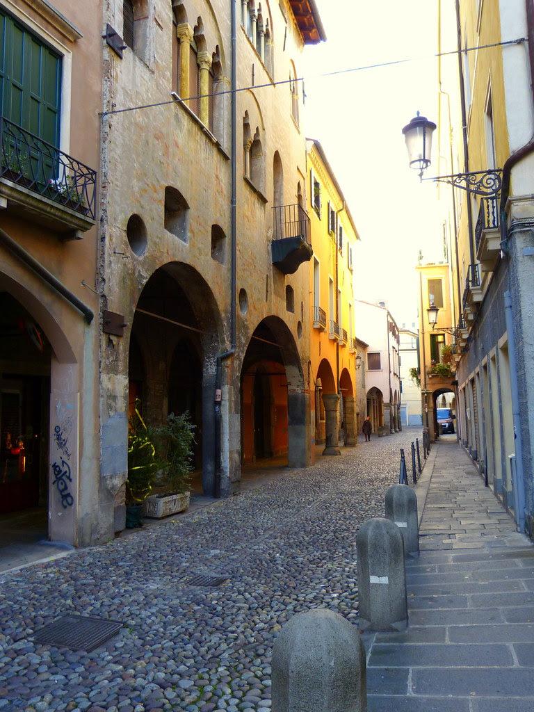 Cobbled street, Padua