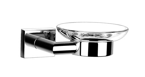Soap Dish With Chrome Holder 3159 Bathroom Soap Holders By Sanliv