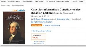 Capsulas Informativas Constitucionales Spanish Edition