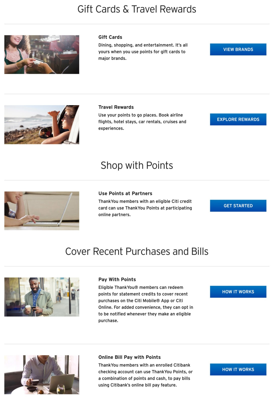 Citi ThankYou® Points: What Are They Worth? - ValuePenguin