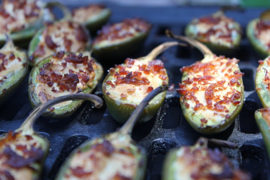 Smoked Jalapeno Poppers on the Camp Chef Big Gas Grill