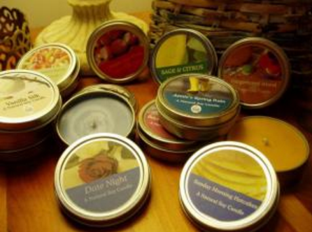 Free Soy Candle Sample
