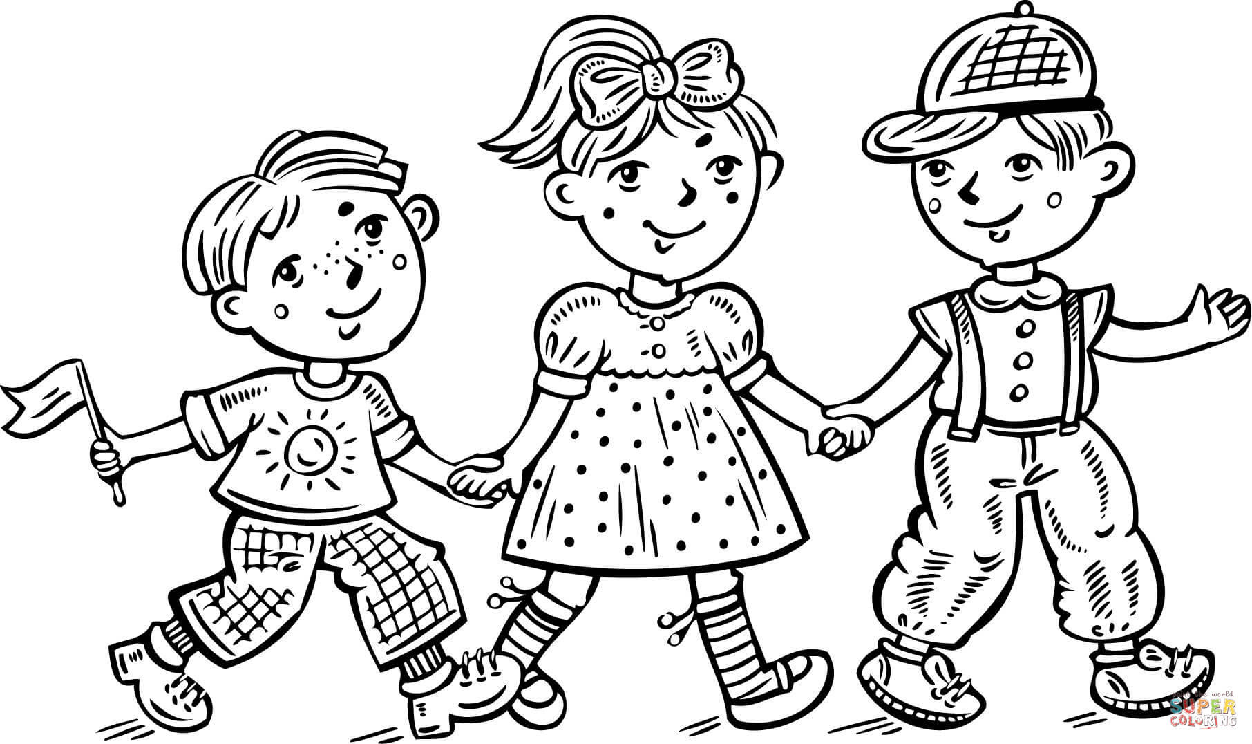 8200 Free Coloring Pages Of A Boy And Girl Images & Pictures In HD