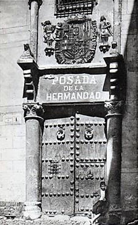 Posada de la Hermandad (Toledo) a principios del siglo XX.