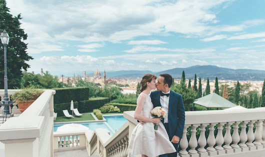 Julie & Gregory's Intimate Wedding in Florence Tuscany