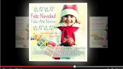 Video Tarjeta Feliz Navidad y Feliz Año Nuevo>Click para ver el video